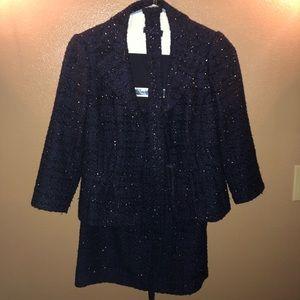 Kay Unger jacket and shirt set